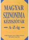 Magyar szinonima kéziszótár