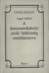 A dunaszerdahelyi zsidó hitközség emlékkönyve
